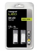 Twin Pack | G9 LED Bulb I 10W Equivalent Warm White | LED Lamp x 2